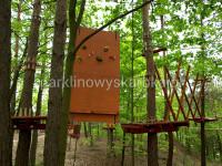 Trasa dla dzieci - Park Linowy Skarbka